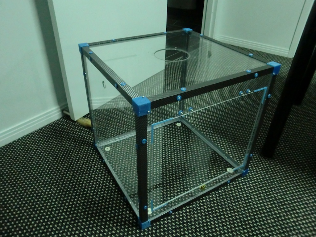 A Clear Acrylic Box For The Portabee 3d Printer Part 4