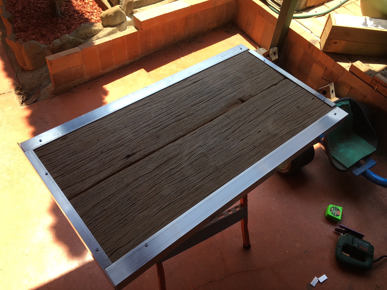 Superb img of DIY Hardwood Coffee Table made out of recycled wood (part 2) Igor's  with #BD990E color and 1280x960 pixels