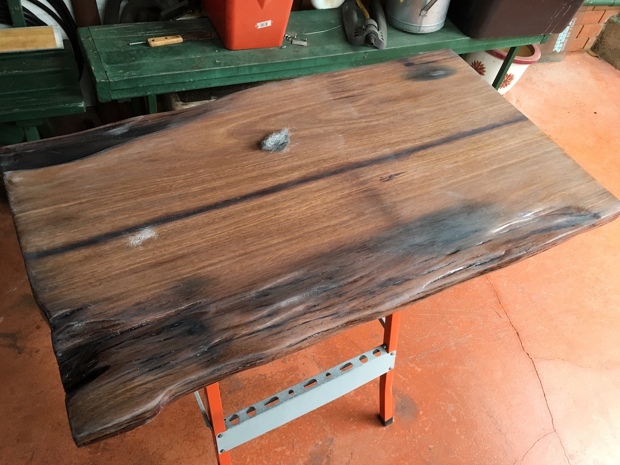 Superb img of DIY Hardwood Coffee Table made out of recycled wood (part 4) Igor's  with #BA5211 color and 1280x960 pixels