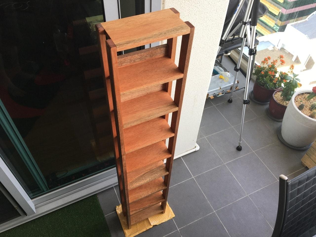Gallery: Building a custom Atari Lynx game box storage shelf unit in
