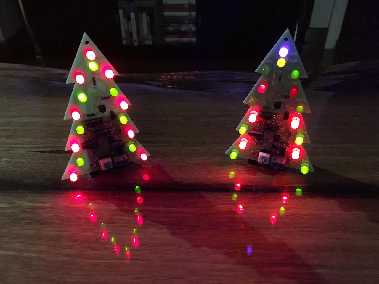 Gallery: Christmas Tree Flash LED Electronic DIY Learning Kit (SKU180142) |  Igor Kromin