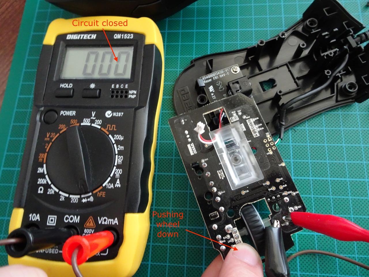 Fixing Razer Deathadder Chroma scroll button click | Igor Kromin
