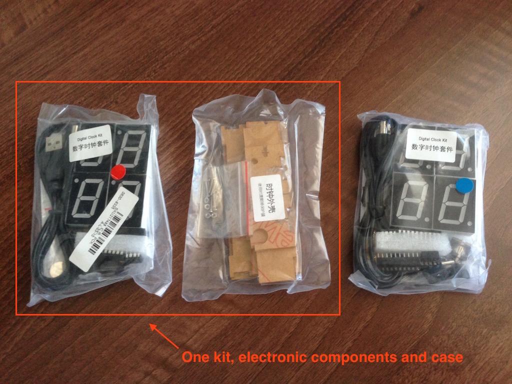 Assembling The Diy 4 Digit Led Electronic Clock Kit Igor Kromin Digital Circuit Diagram Image Img 1223 1225