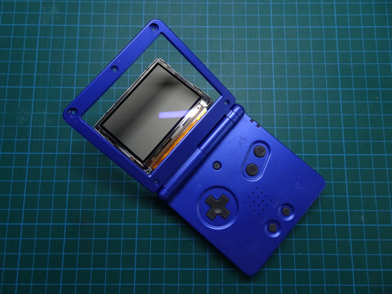 Restoring A Game Boy Advance Sp New Housing Battery And