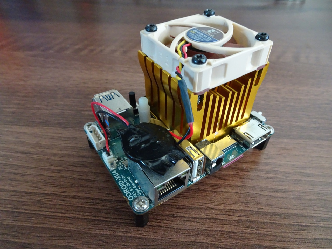 Another Odroid XU4 standard heatsink and fan replacement