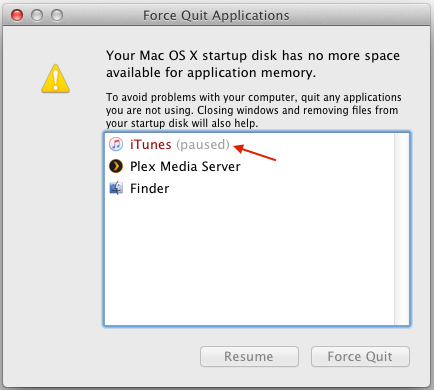 how to resume unpause paused apps in os x igor kromin