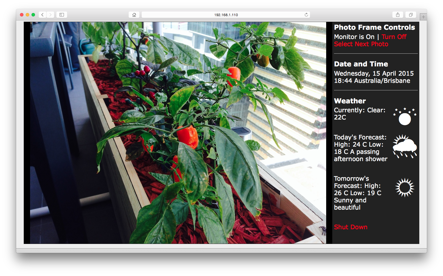 RaspberryPi and a USB monitor combined to make a photo frame (part 4 ...