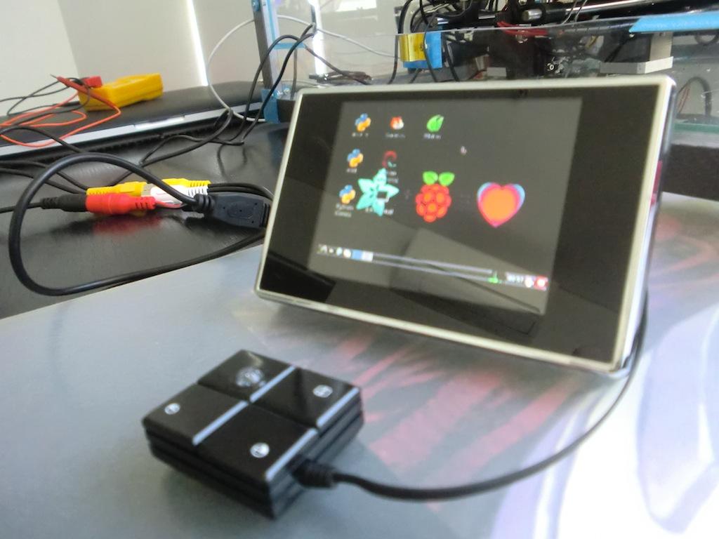 PiBee: Adding a trackball and monitor to make a standalone