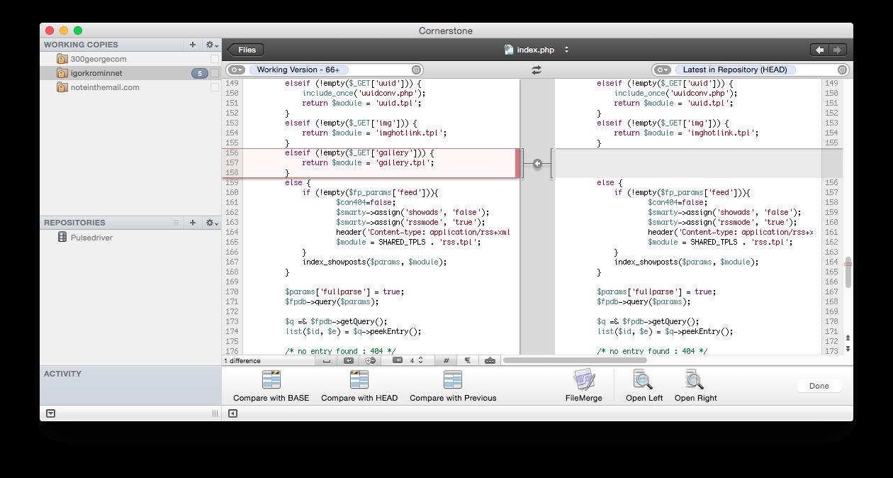 Cornerstone is the best SVN client for Mac | Igor Kromin