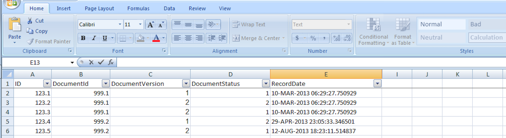 Using Excel to generate SQL statements from raw data | Igor Kromin