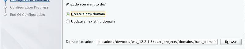 Setting up a WebLogic 12c development server in under 10 minutes on