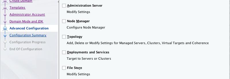 Setting up a WebLogic 12c development server in under 10