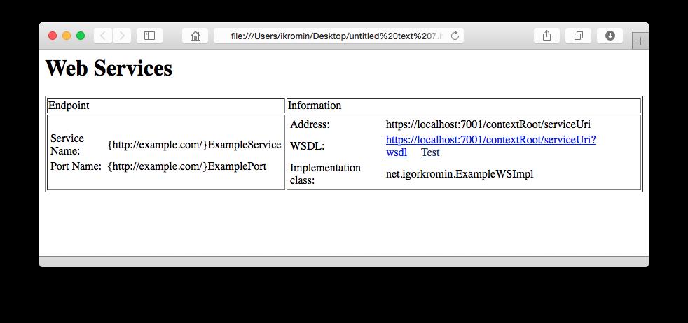Force HTTPS SSL URLs on web service requests in WebLogic