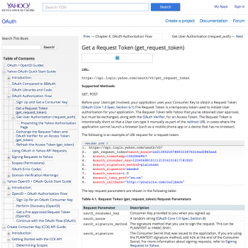 Yahoo Weather API Documentation Yahoo Developer Network