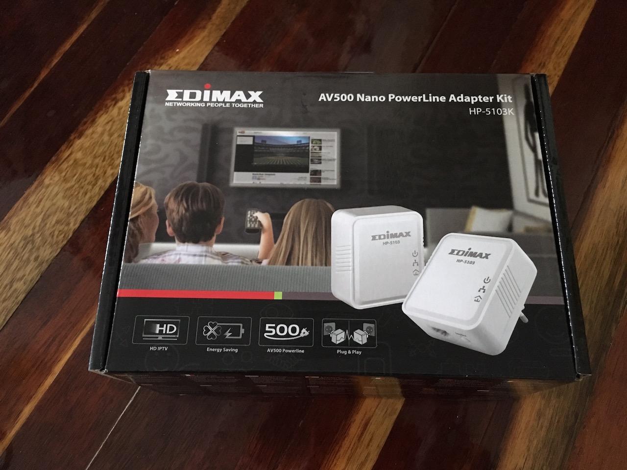Edimax Hp 5103k Av500 Mini Powerline Adapter Starter Kit Igor Kromin