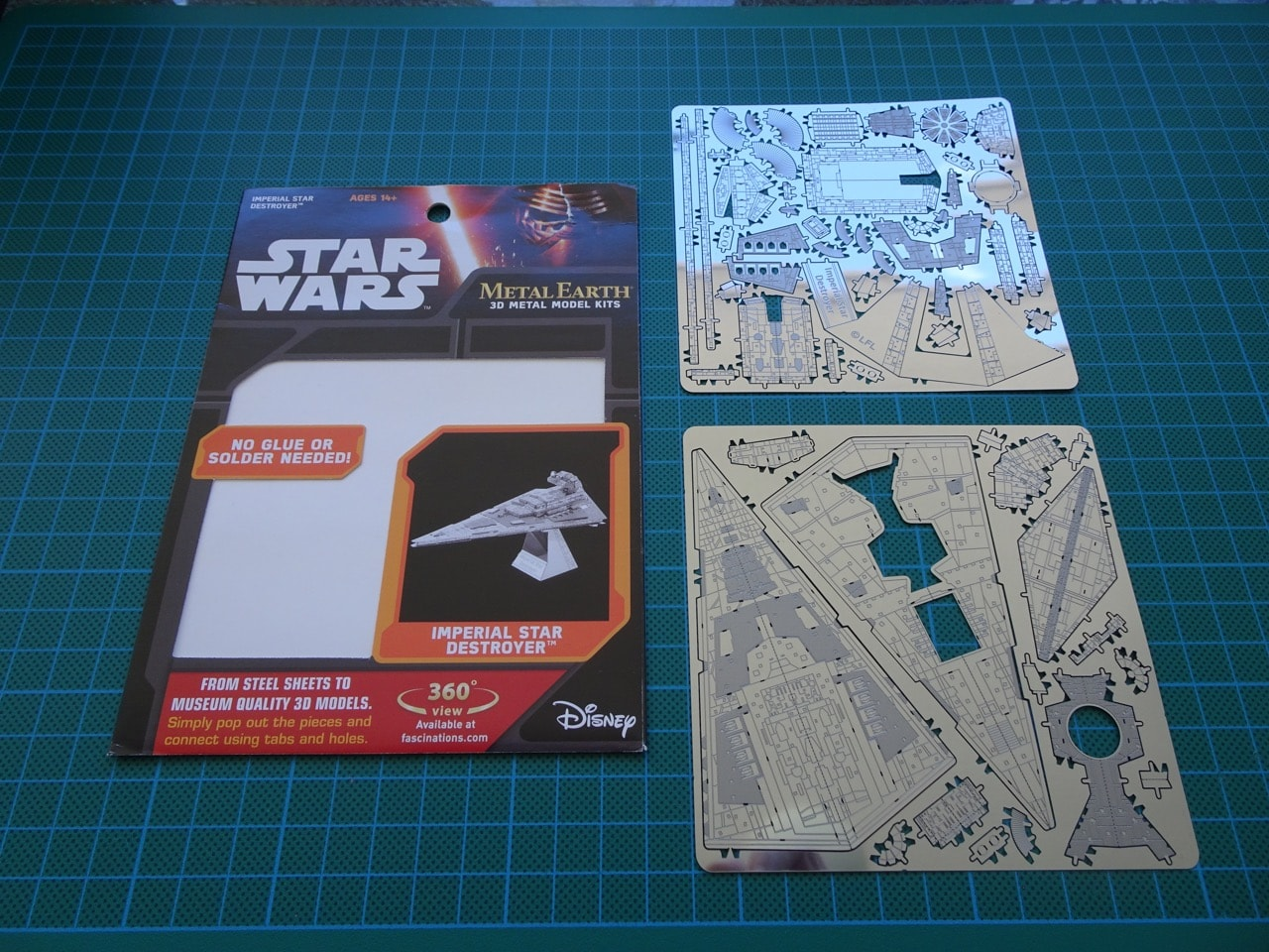 Putting Together The Metal Earth Star Wars Imperial Star Destroyer