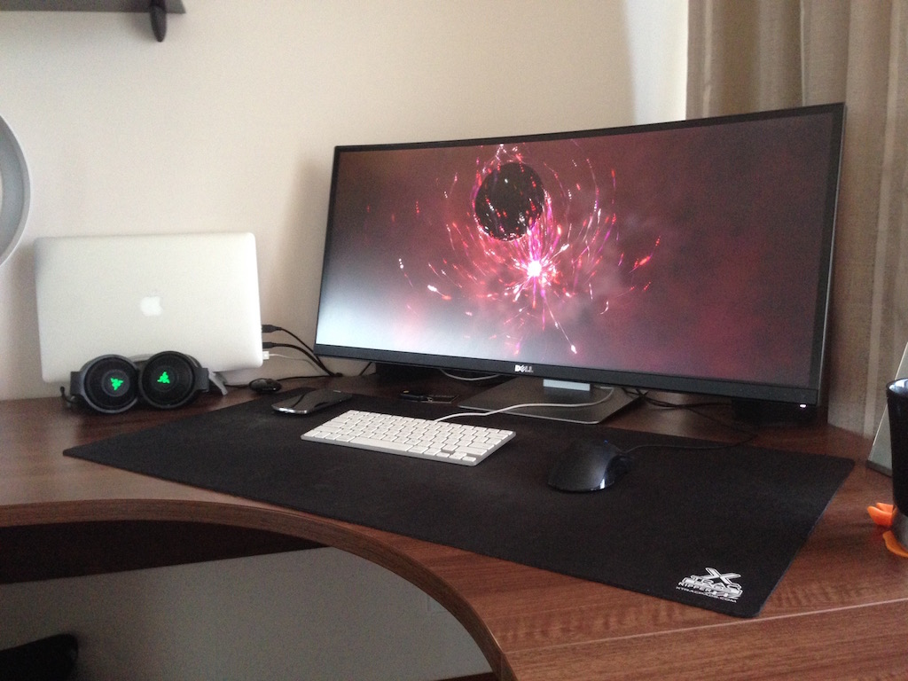dual screen wallpaper mac setup